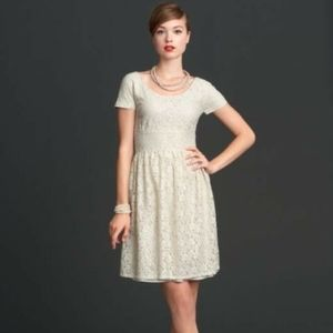 Banana Republic Mad Men White Lace Dress sz. 14